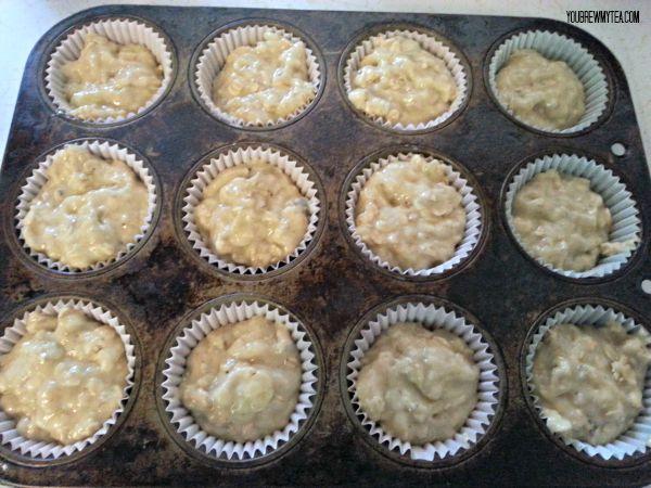 Banana Nut Oat Muffin Recipe