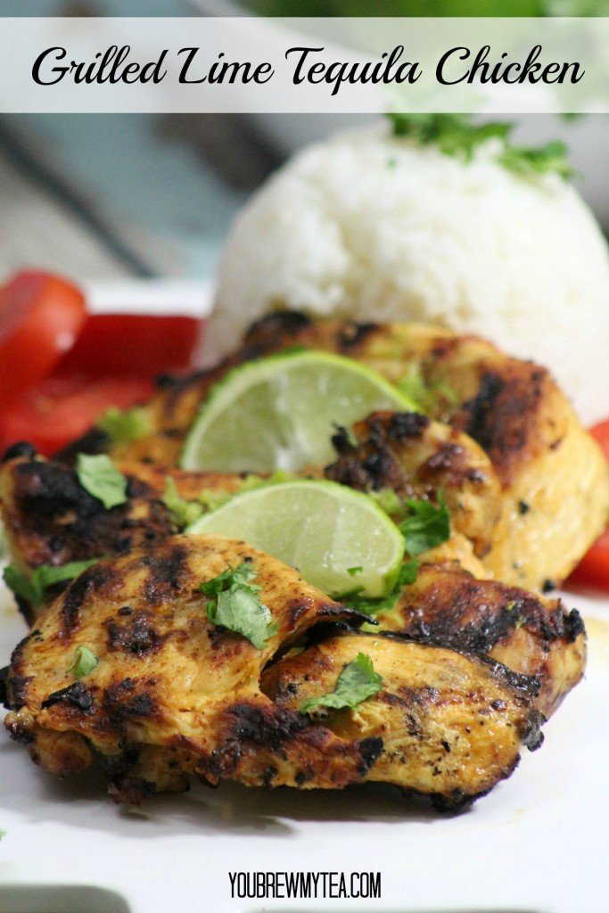 Grilled Lime Tequila Chicken Breasts
