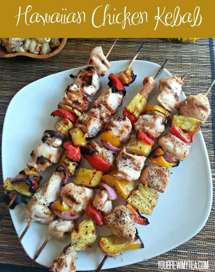Hawaiian Chicken Kebab Recipe