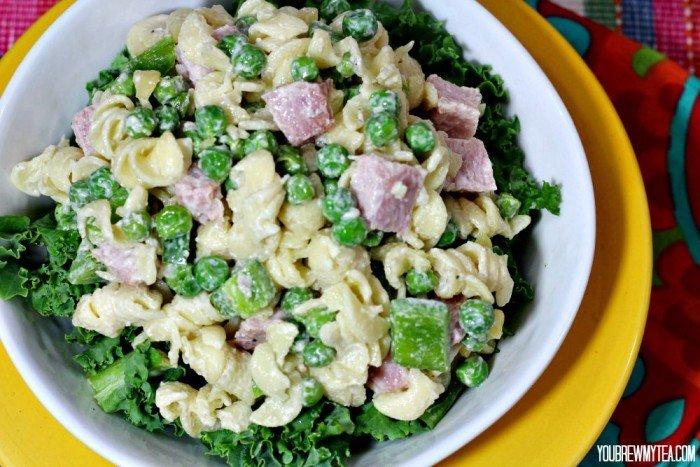 Ham & Pea Pasta Salad