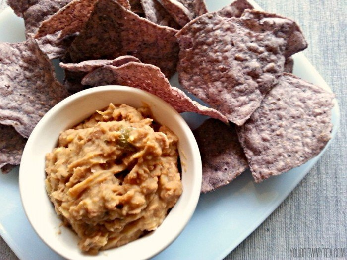 Homemade Refried Bean Dip