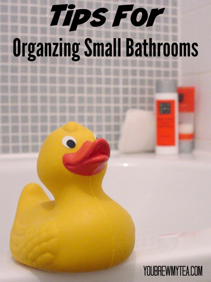 Tips For Organizing Small Bathrooms
