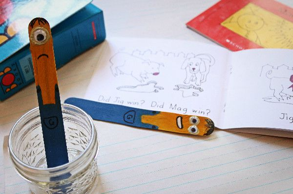 minion bookmark pointer school