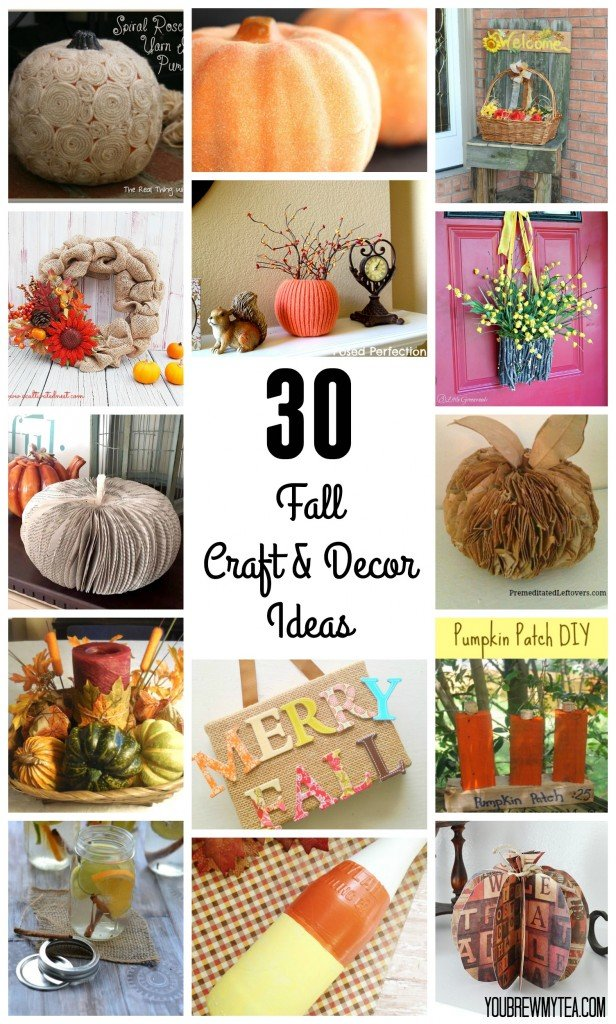 30 Fall Craft & Decor Ideas