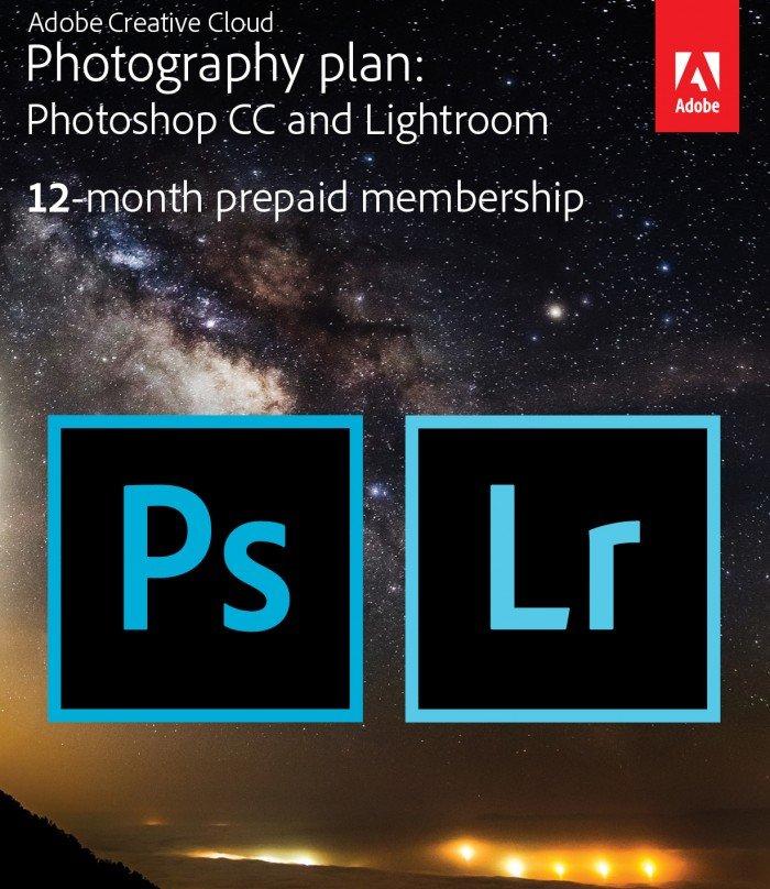 Adobe Creative Cloud Photography Studio