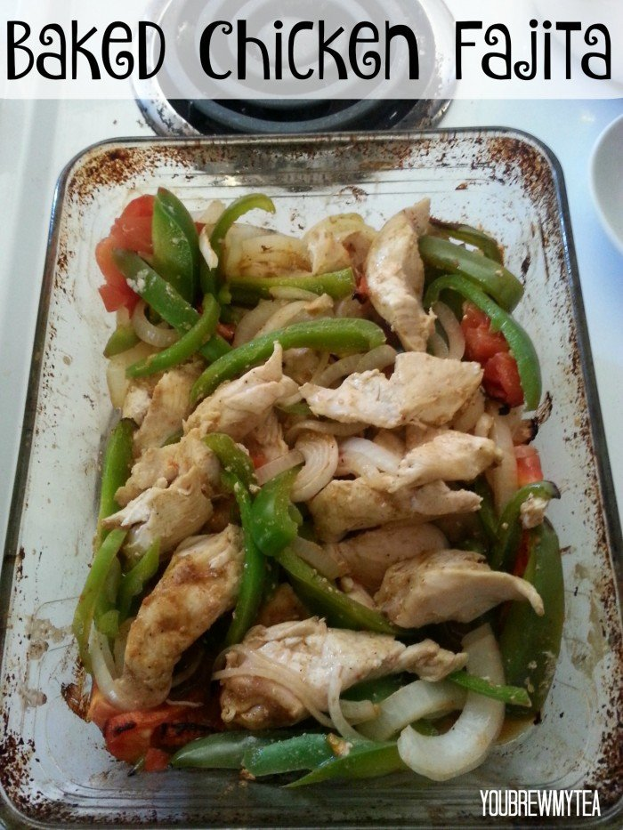Baked Chicken Fajita Recipe
