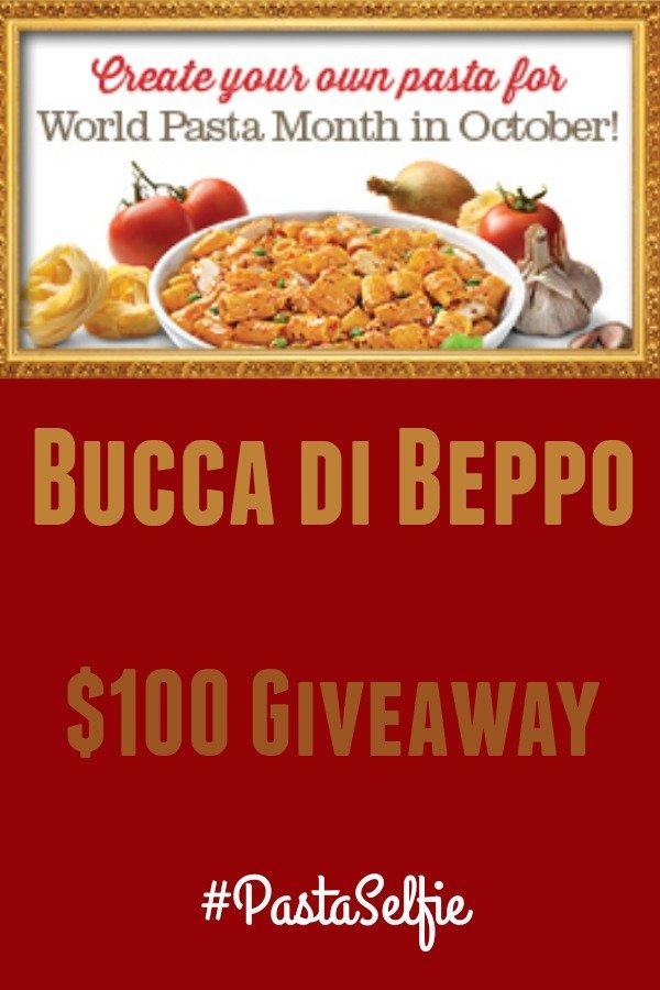 Bucca di Beppo Giveaway