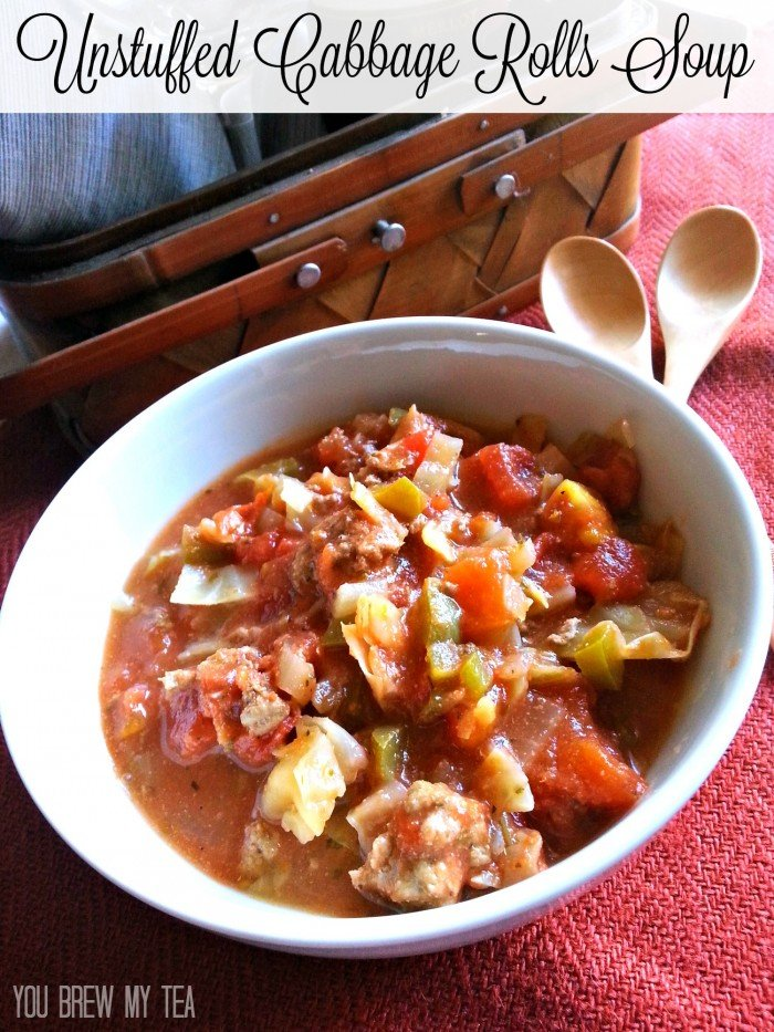 This Unstuffed Cabbage Rolls Soup recipe is a great choice for a fast, healthy and delicious meal!