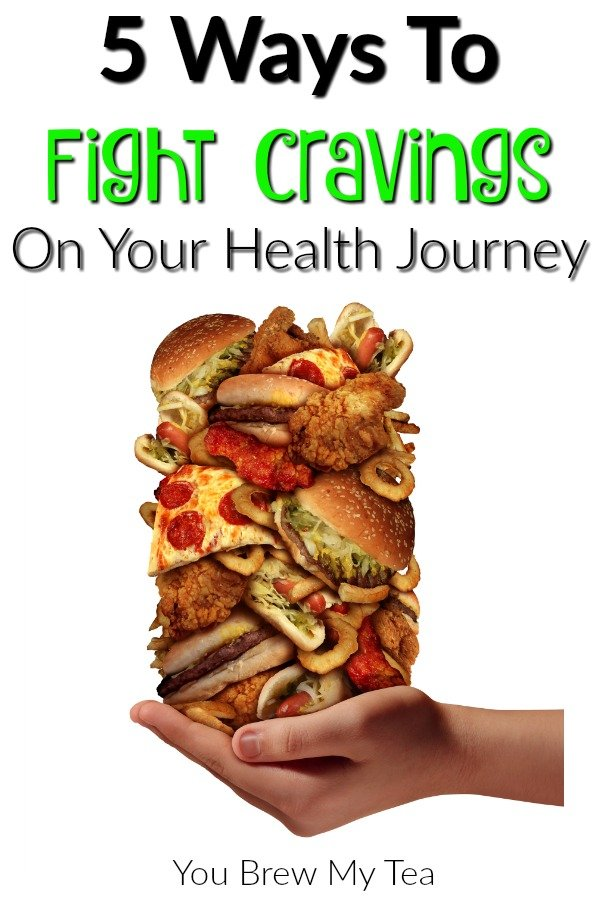 Check out these amazing ways to fight cravings on your health journey! Sugar, fats, carbs and more can be overcome for better health!