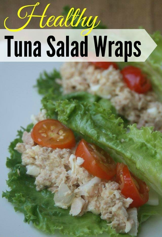 Weight Watchers Lunch Healthy Tuna Salad Wraps