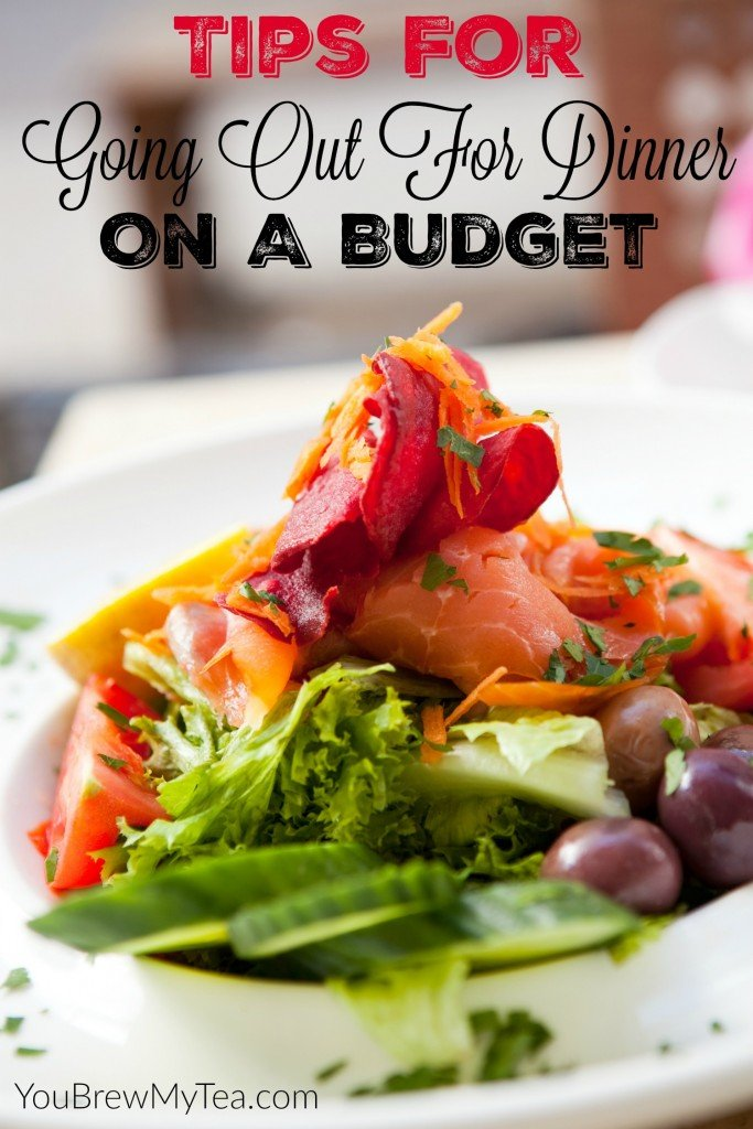 Are you wanting to go out to eat, but are broke? Since it is all too common for us, here are some tips for going out for dinner on a budget.