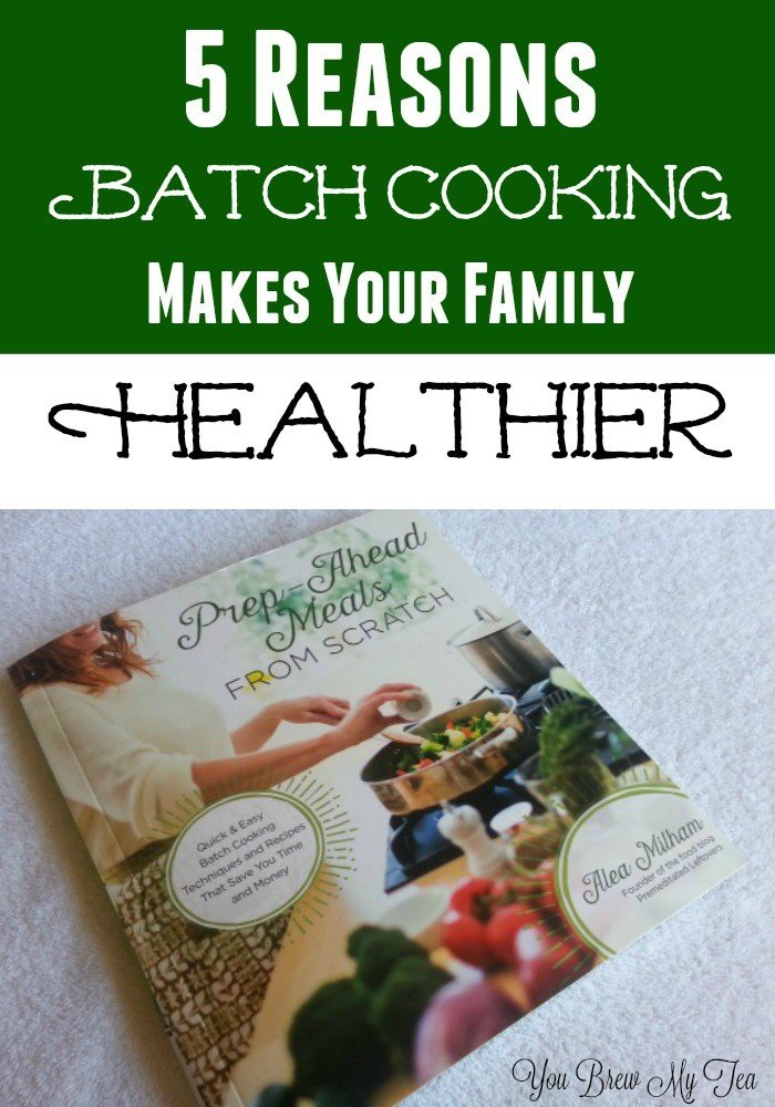 Get healthier by using great batch cooking methods to feed your family amazing healthy meals they love!