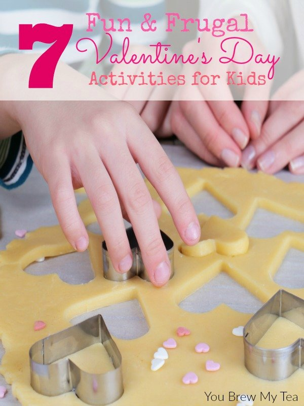 Wow! Check out our 7 Fun & Frugal Valentine's Day Activities For Kids! Perfect ways to keep the fun in the holiday without all the expense!