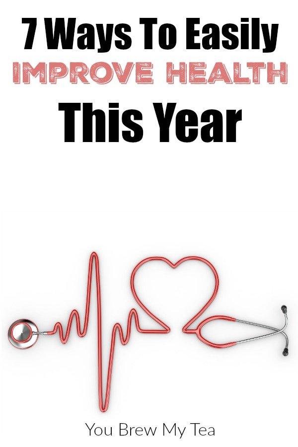 Check out these great ways to easily improve your health this year! A few simple things can make a huge impact!
