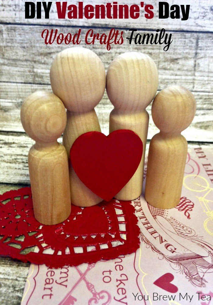 DIY Valentine's Day Wood Crafts Family