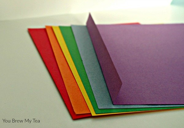 Check out this fun Rainbow themed Paper Weaving craft for kids! Great for holidays and homeschool classwork!