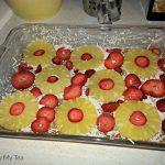 Weight Watchers Desserts: Strawberry Pina Colada Cake