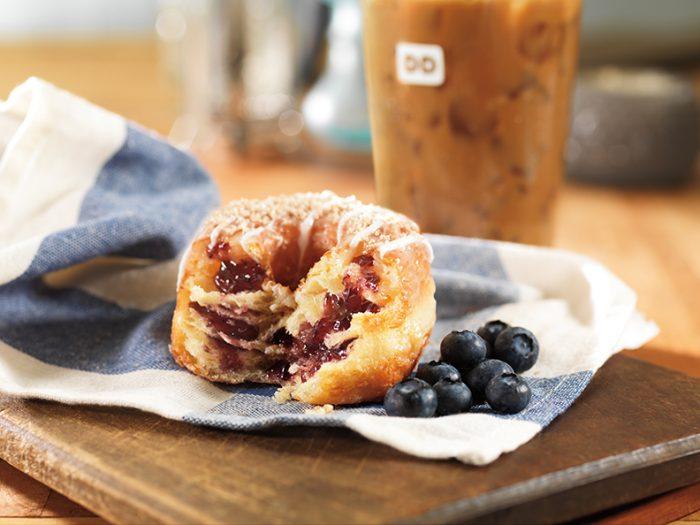 Blueberry Cobbler Croissant Donut VerticalHorizontal Lifestyle