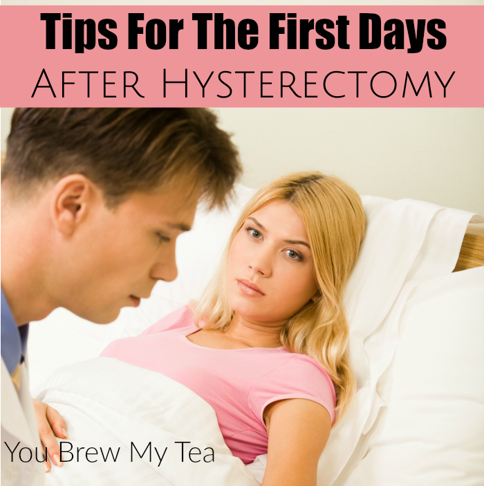 3222d911a41 After hysterectomy recovery is something you may not be prepared for. Don t  miss