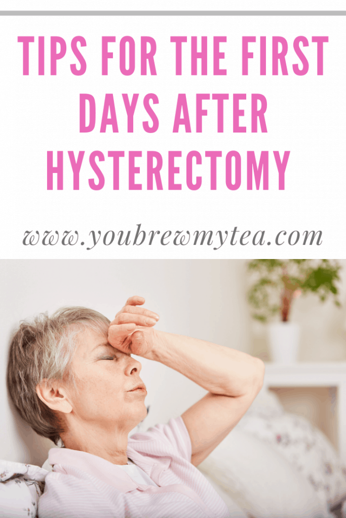 Tips For The First Days After Hysterectomy