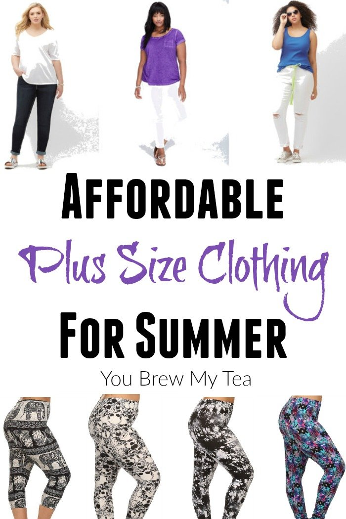 Check out some great affordable plus size clothing tips ideal for summer! Casual plus size clothing as well as fun ideas for dressing up plus size leggings!