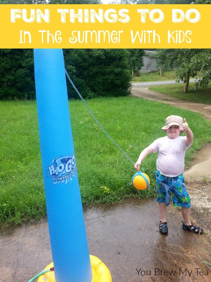 Don't miss our list of Fun Things To Do In The Summer With Kids! Great tips for staying cool and having fun all summer!