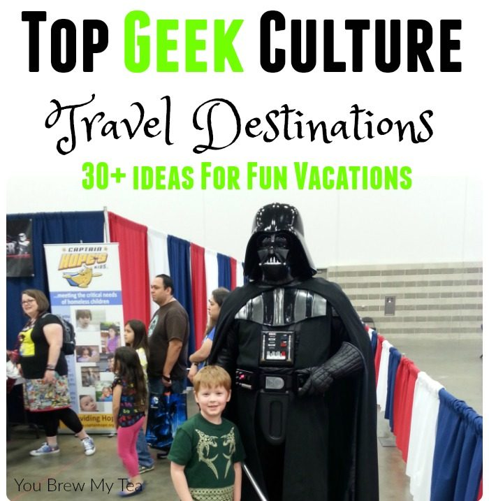 Join the Geek Culture with these top travel destinations! From science geeks to nerds and cosplay or comic geeks, this list has a 30+ amazing options!