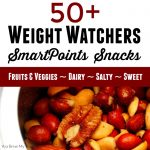 50 + Weight Watchers SmartPoints Snacks