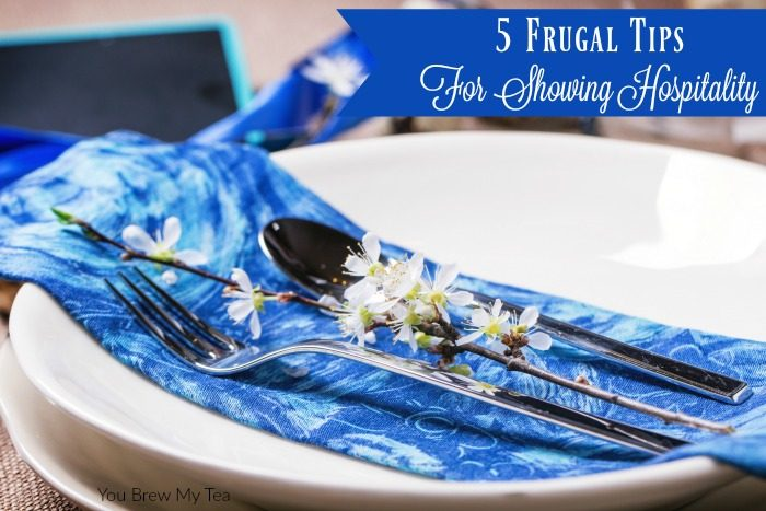 Frugal Tips for showing hospitality will make it so much easier to entertain friends and family without breaking the bank! These are great tips we've put into practice for years and know you will find them useful too!