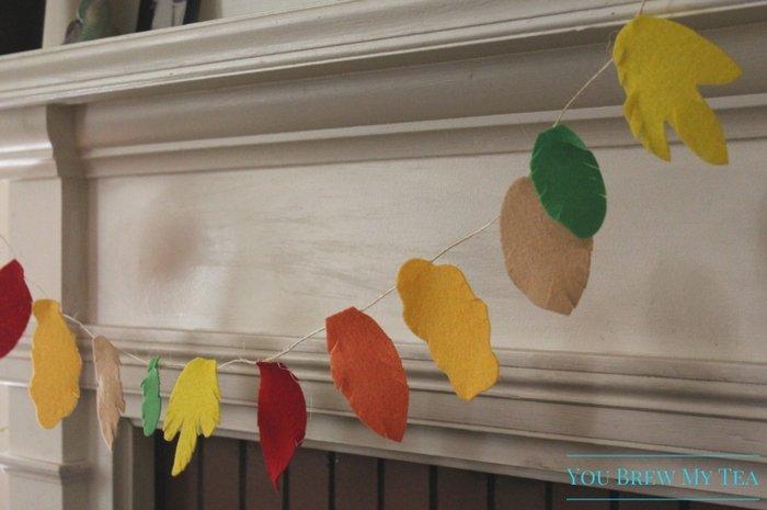 Fall Felt Leaf Garland Teachers Classroom Garland New Create Your Own Felt Fall Leaf Garland Kit Fall Leaf Home Decor