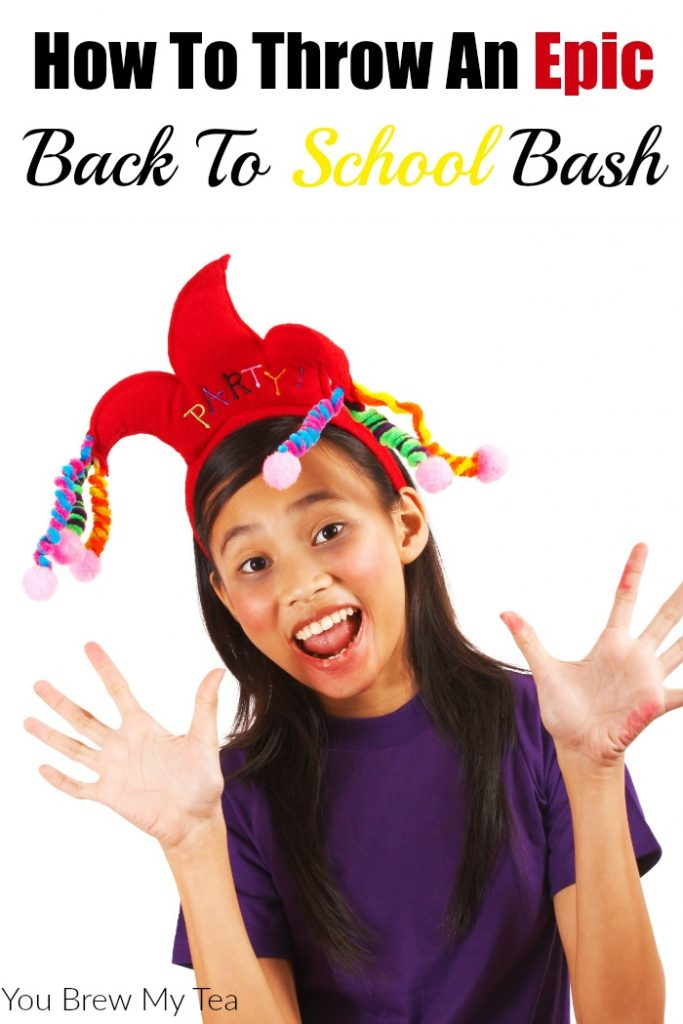 Throw an Epic Back To School Bash with your kids this year using our great tips! Frugal tips for a party your kids and friends will rave about for months!