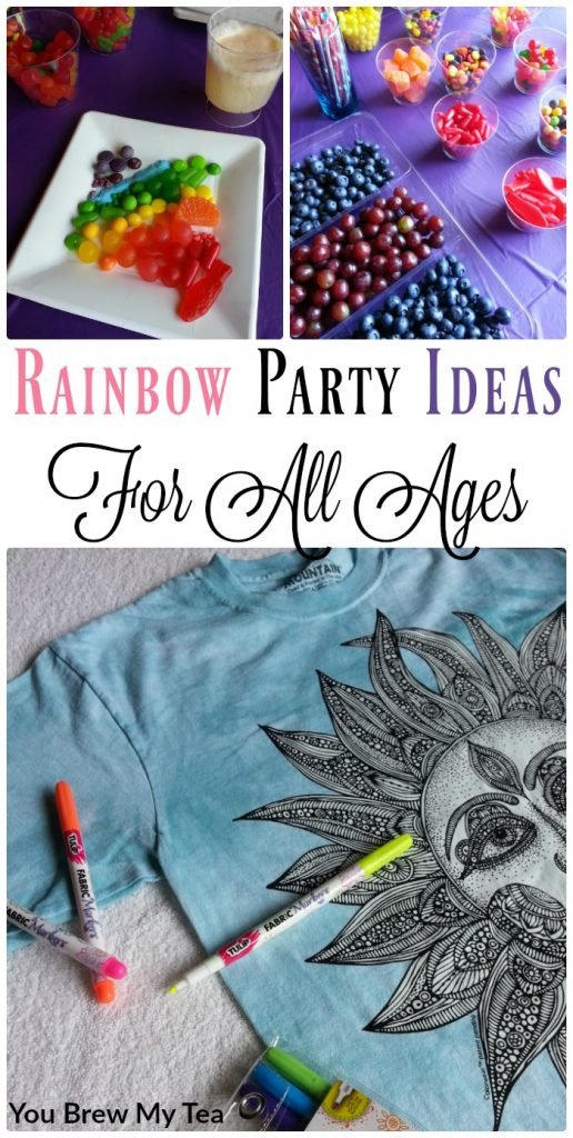 Rainbow Party Ideas like ours are budget-friendly and super easy to pull together for a fun filled family-friendly party for adults and kids to enjoy!