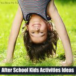 Tips For Creating Kids Activities For After School