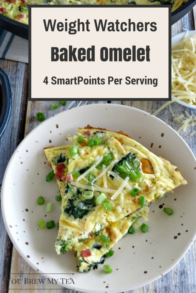 Weight Watchers Breakfast ideas like this delicious Baked Omelet are ideal for a hearty high-protein and low-carb breakfast! This is super easy to make!