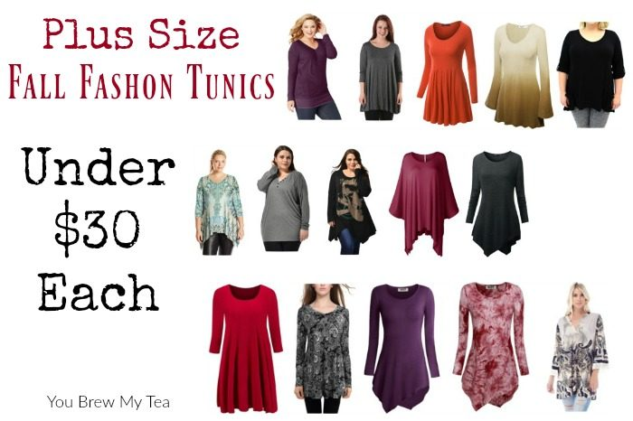 15 Affordable Plus Size Fall Fashion Tunics - You Brew My Tea