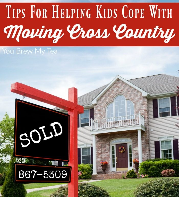 Tips For Moving Cross Country With Kids