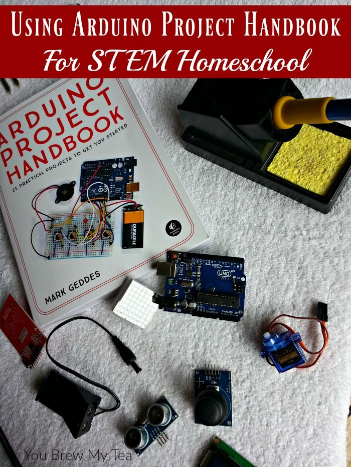 Using Arduino Project Handbook For STEM Homeschool