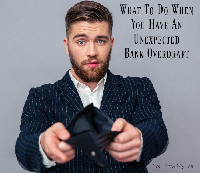"Bank Overdraft Fees can ruin your finances fast! Check out our tips for how to manage a ""bounced check"" or negative bank balance!"