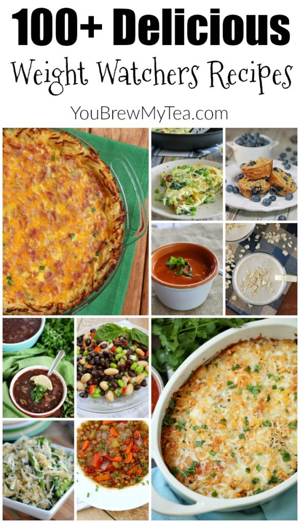 100 + Delicious Weight Watchers Recipes