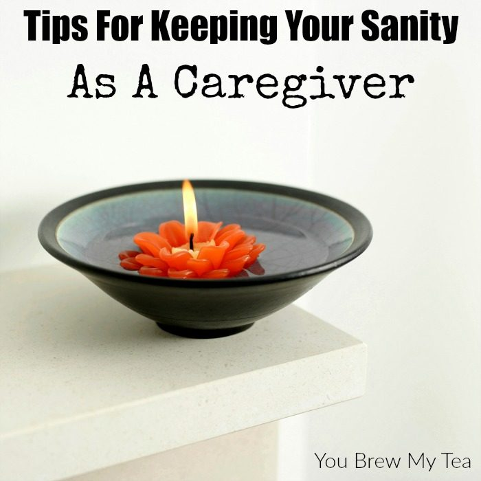 Are you a caregiver?  Check out these tips for keeping your sanity no matter what your schedule happens to be!