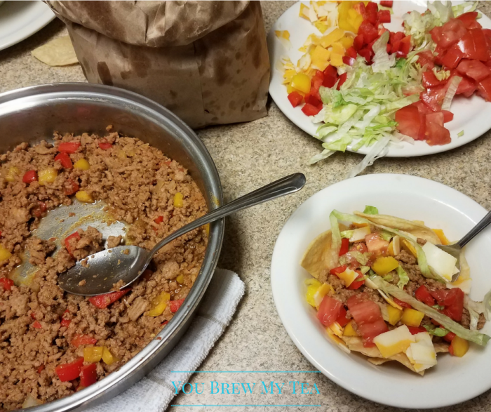 Weight Watchers Recipes: Make our Taco Bowls as one of your favorite Weight Watchers Recipes to have on the Go when staying away from home! Easy and yummy!