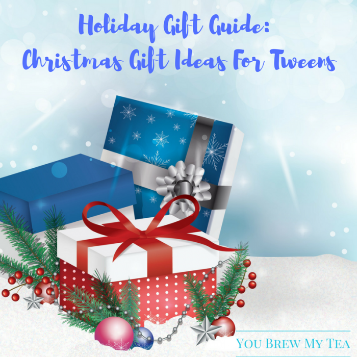 Don't miss this great list of Christmas Gift Ideas for tweens. These great fun ideas are just what you need to make sure your kids are happy this year!