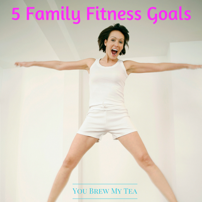 Family Fitness: Check out our tips for Family Fitness Goals For The New Year! This list is perfect for getting everyone involved in healthier habits!