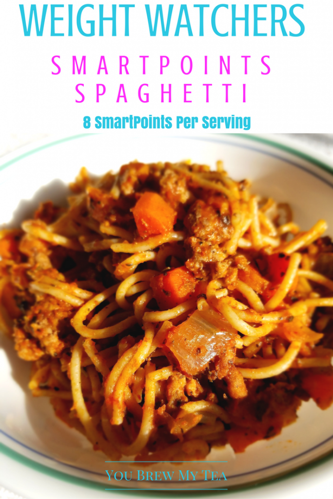 Weight Watchers SmartPoints Spaghetti Recipe is an easy version high in fiber and flavor while low in calories! Your family will love this easy recipe!