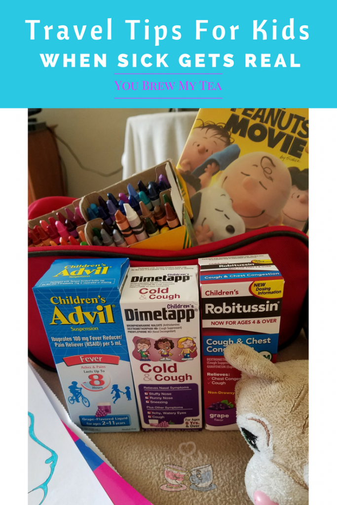 Don't miss our Travel Tips For Kids when Sick Gets Real on the road! Use these tips to keep your kids happy and healthier when you travel!