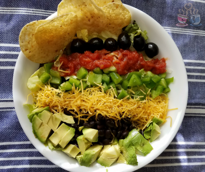 Mexican Salad: Make our Black Bean Mexican Salad Recipe for only 6 SmartPoints per serving on the Weight Watchers Beyond The Scale program!
