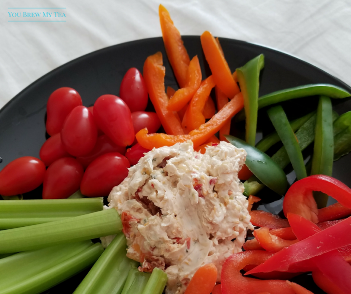 This Healthy Veggie Dip is a favorite 2 SmartPoints treat that is a great way to get kids to eat more vegetables! Weight Watchers Dip recipe everyone wants!