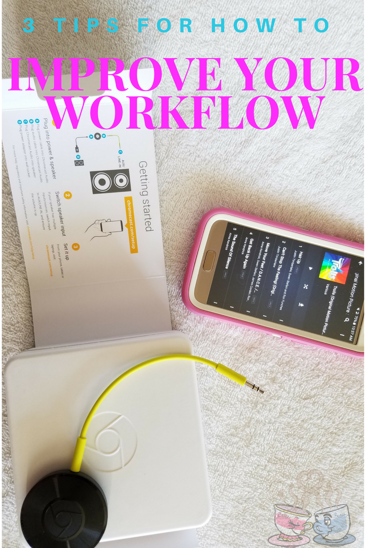 Improve your workflow with out tips and suggestions featuring easy methods to make your time work better for you!