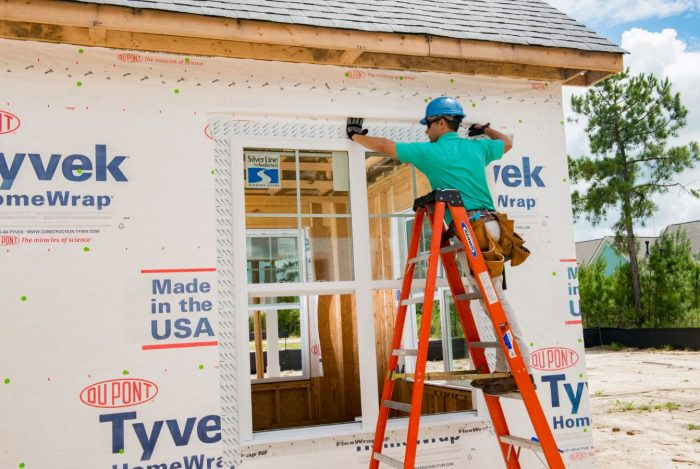 Energy Savings Tips are a must for home renovations and these for Exterior Sheathing will save you tons!