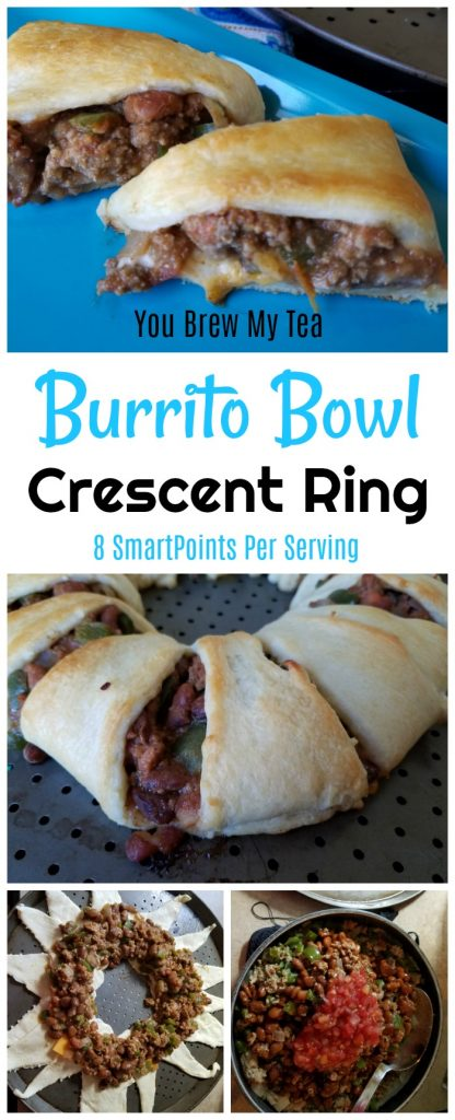 Burrito Bowl Crescent Ring